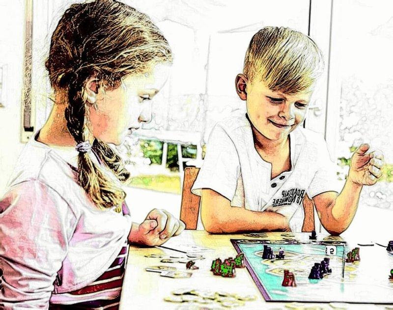 Was fördern Brettspiele bei Kindern